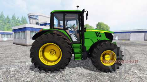 John Deere 6115M для Farming Simulator 2015