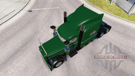 Скин Seidler Trucking на тягач Peterbilt 389 для American Truck Simulator