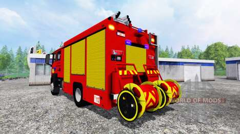 MAN TGM Feuerwehr для Farming Simulator 2015