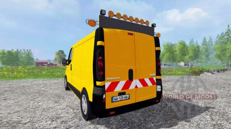 Renault Trafic [werkstattwagen] для Farming Simulator 2015