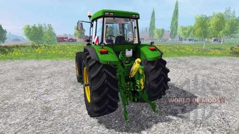 John Deere 7810 FL [washable] v3.0 для Farming Simulator 2015