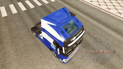 Скин KLG на тягач Volvo для Euro Truck Simulator 2