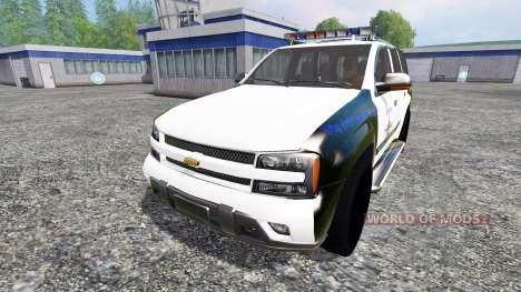 Chevrolet TrailBlazer Police K9 для Farming Simulator 2015