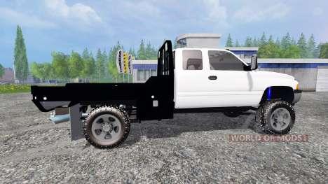 Dodge Ram 2500 [flatbed] для Farming Simulator 2015