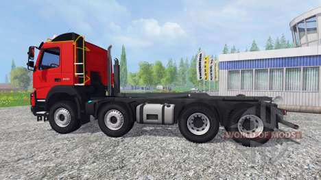 Volvo FMX Ampliroll для Farming Simulator 2015