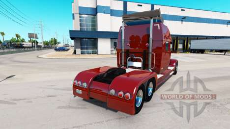 Concept truck 2020 Raised Roof Sleeper для American Truck Simulator