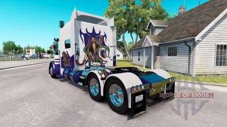 Скин на тягач Peterbilt 389 для American Truck Simulator