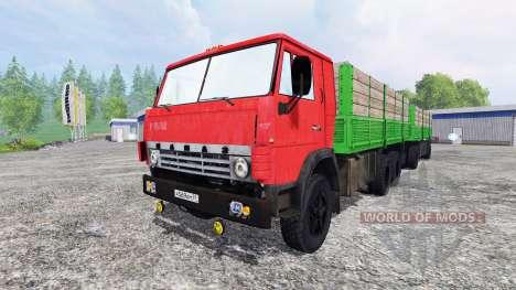 КамАЗ-55212 v2.0 для Farming Simulator 2015