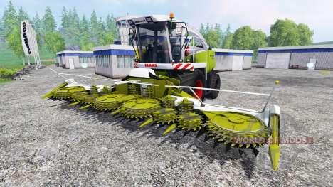 CLAAS Jaguar 890 для Farming Simulator 2015