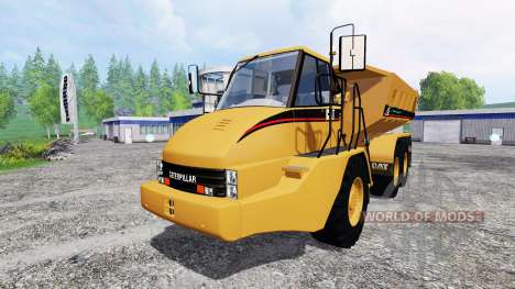 Caterpillar 725A [dump] v2.5 для Farming Simulator 2015