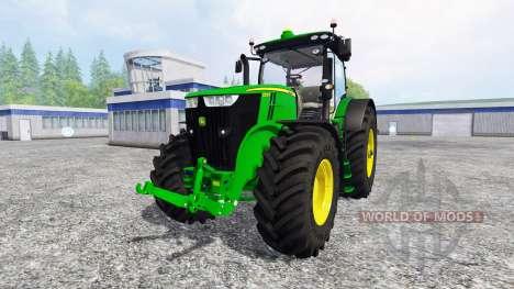 John Deere 7290R v2.2 для Farming Simulator 2015