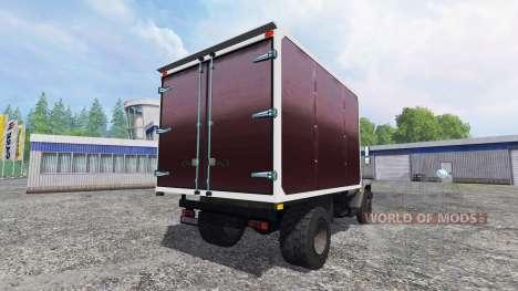 ГАЗ-3307 v1.1 для Farming Simulator 2015