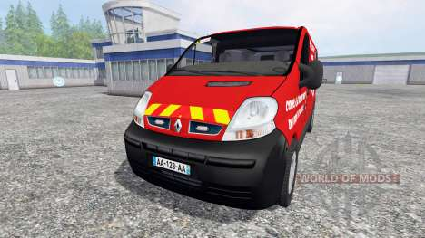 Renault Trafic VTU v3.0 для Farming Simulator 2015