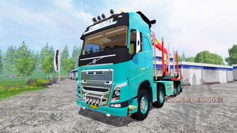 Volvo FH [forest] для Farming Simulator 2015