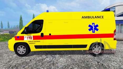Peugeot Boxer [ambulance] для Farming Simulator 2015