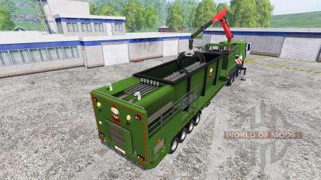 Iveco Stralis [wood chippers] v1.1 для Farming Simulator 2015