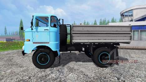 IFA W50 [голубой] для Farming Simulator 2015