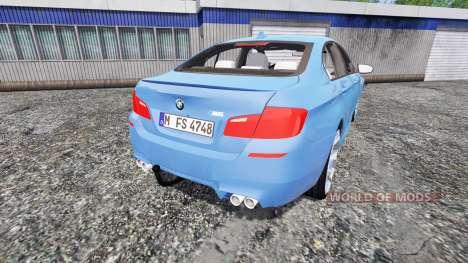 BMW M5 (F10) 2011 [zivil kdow] для Farming Simulator 2015
