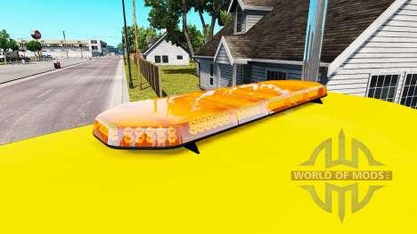 Проблесковый маяк v1.5 для American Truck Simulator