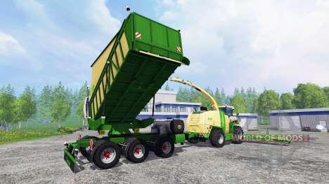 Krone Big X 1100 для Farming Simulator 2015