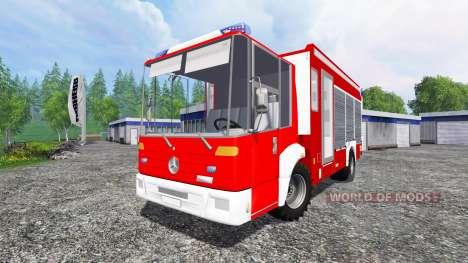 Mercedes-Benz Econic Feuerwehr для Farming Simulator 2015