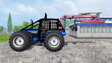Ford 8340 [forestry] для Farming Simulator 2015