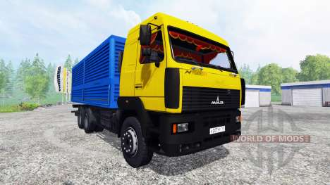 МАЗ-6501 v1.2 для Farming Simulator 2015