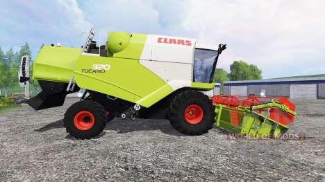 CLAAS Tucano 320 для Farming Simulator 2015