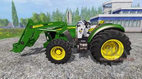 John Deere 5115M [pack] для Farming Simulator 2015