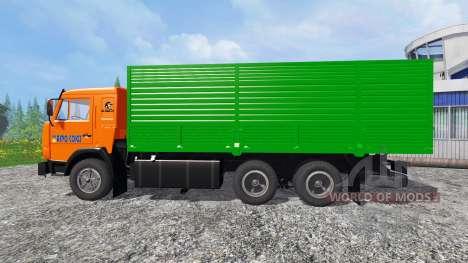 КамАЗ-53212 [оранжевый] для Farming Simulator 2015
