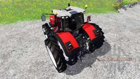 Massey Ferguson 8737 [row crops] для Farming Simulator 2015
