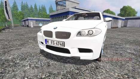BMW M5 (F10) 2011 для Farming Simulator 2015