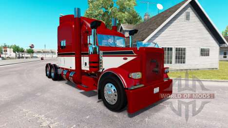 Скин Red Baron на тягач Peterbilt 389 для American Truck Simulator