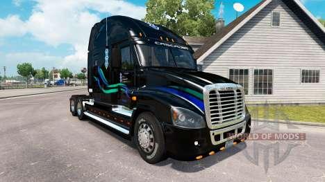 Скин John Christner на Freightliner Cascadia для American Truck Simulator