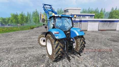 New Holland T6.140 для Farming Simulator 2015