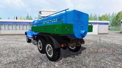 ЗиЛ-157 [живая рыба] для Farming Simulator 2015
