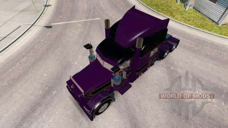 Скин Conrad Shada на тягач Peterbilt 389 для American Truck Simulator