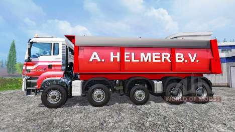 MAN TGS A. Helmer B.V. v1.1 для Farming Simulator 2015
