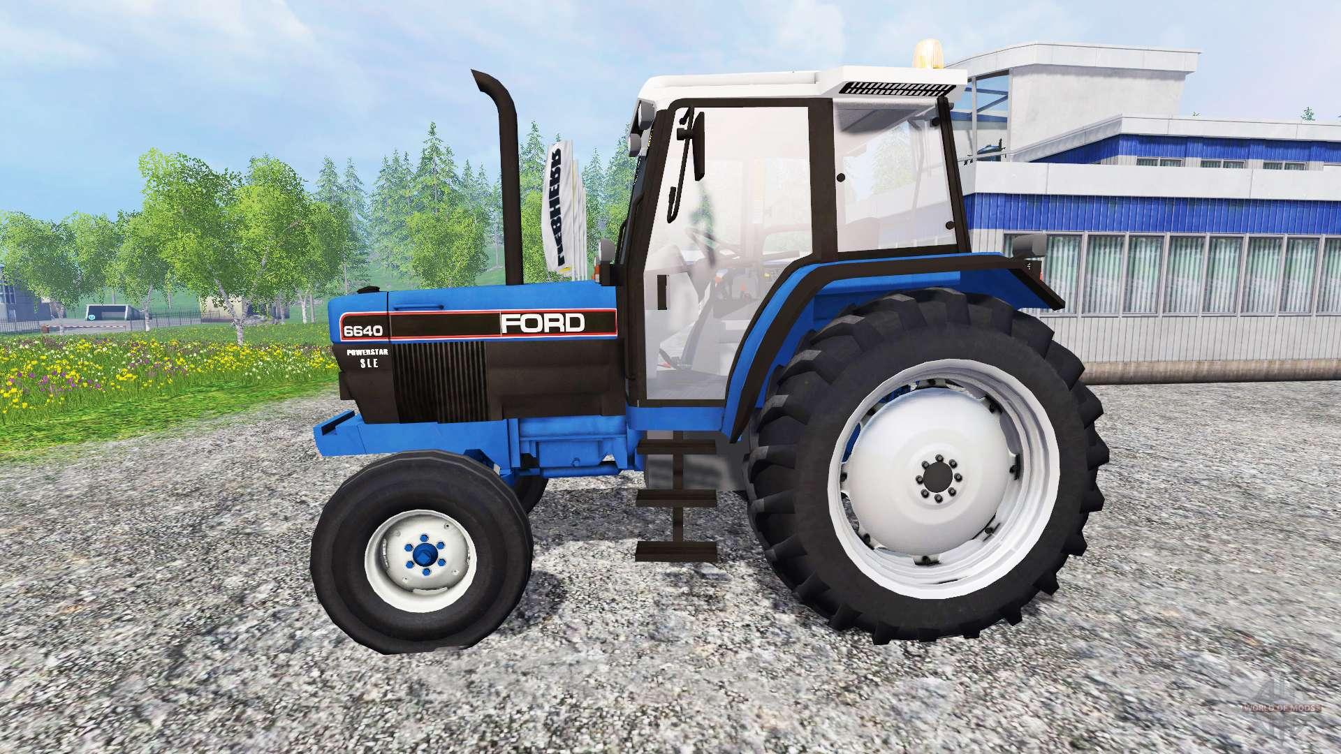 запчасти к трактору форд 6640 #11