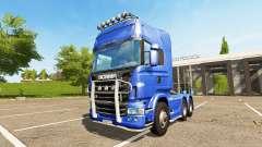 Scania R730 Topline для Farming Simulator 2017