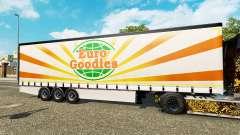 Шторный полуприцеп Krone EuroGoodies для Euro Truck Simulator 2