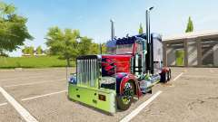 Peterbilt 388 Optimus Prime для Farming Simulator 2017