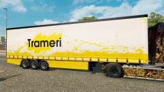 Шторный полуприцеп Krone Trameri для Euro Truck Simulator 2