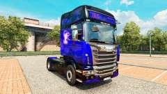 Скин ITS International Transport на тягач Scania для Euro Truck Simulator 2