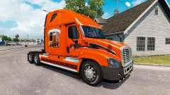 Скин SCHNEIDER на тягач Freightliner Cascadia для American Truck Simulator