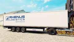 Скин Rhenus Logistics на полуприцеп-рефрижератор для Euro Truck Simulator 2