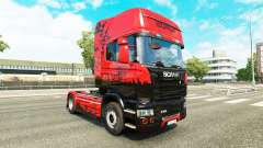 Скин Istanbul на тягач Scania для Euro Truck Simulator 2