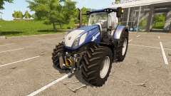 New Holland T7.270 Heavy Duty Blue Power для Farming Simulator 2017