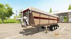 Schmitz Cargobull SKI 24 Pernille Holmboe для Farming Simulator 2017