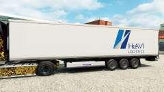 Скин HAVI Logistics на полуприцеп-рефрижератор для Euro Truck Simulator 2